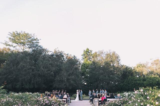outdoor ceremony leu gardens