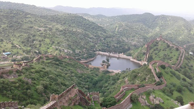 An Amazing View From Jaigarh Fort Jaipur Rajasthan
