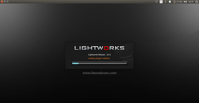 Lightworks successfully installed on Ubuntu