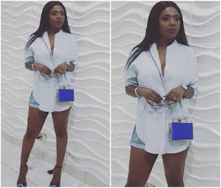 Annie Idibia Replies Follower Who Was Bothered She Turned Up For A Party After The Hallelujah Challenge
