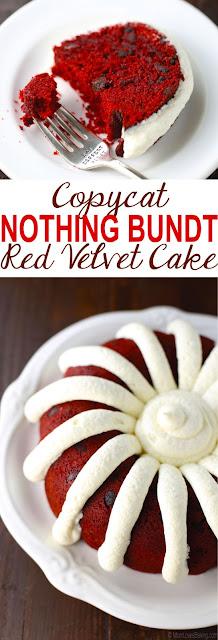 COPYCAT NOTHING BUNDT RED VELVET CAKE
