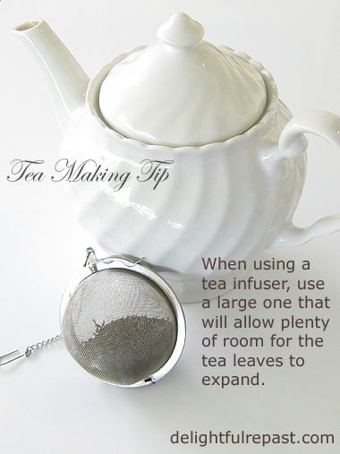 Rishi Tea Review and Giveaway - and Tea Making Tips / www.delightfulrepast.com