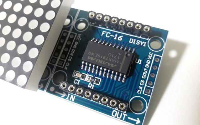 Módulo matriz de led 8x8 MAX7219 FC-16