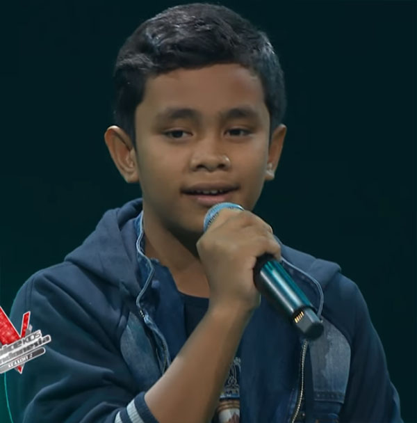 friden pangabean Peserta The Voice Kids Indonesia 5 Oktober 2017
