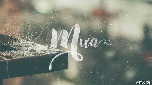 Thơ Mưa Tháng 6 hay, loạt thơ ngắn CƠN MƯA THÁNG SÁU buồn & lãng mạn