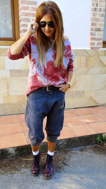 The Hip Tee, Sudadera, Sweatshirt, look con pantalón baggy, Pechón Cantabria, Rita Torrelavega, Fashion Blogger, Style, Blog de Moda, Carmen Hummer style, lifestyle, holydais