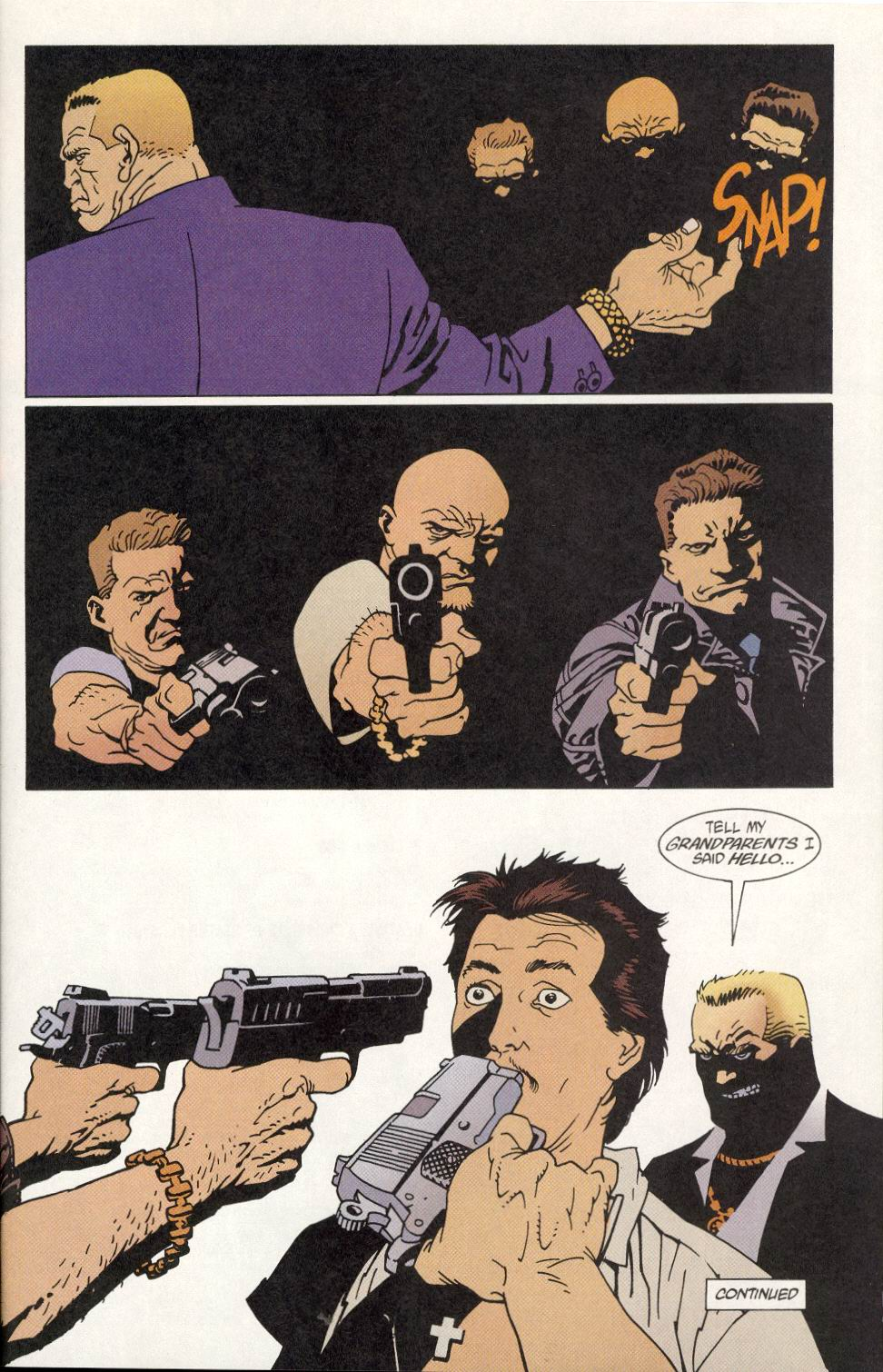 Read online 100 Bullets comic -  Issue #9 - 24