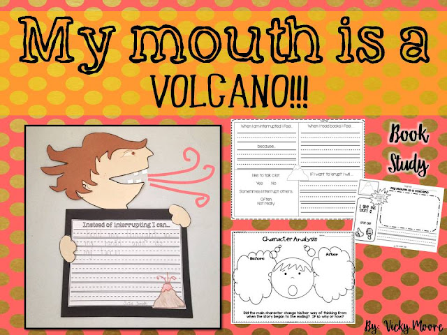 My Mouth is a Volcano ideas and resources