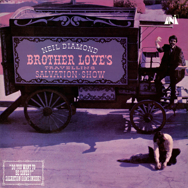 Cd NEIL DIAMOND's Brother Love Front
