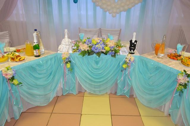 Пример свадебного оформления - почётные места