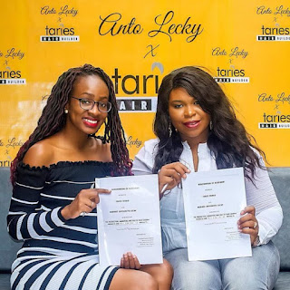 BBNaija's Antolecky Partners Taries World To Launch Hair Products