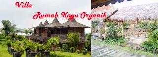 Villa Rumah Kayu Organik