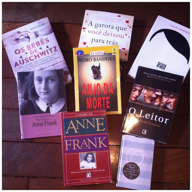 Livros sobre holocausto, Segunda Guerra e campos de concentração