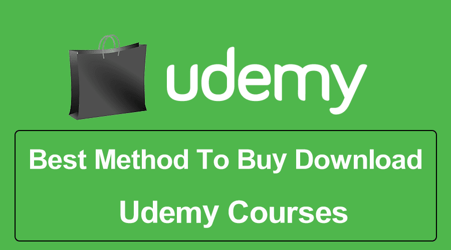 buy udemy coures