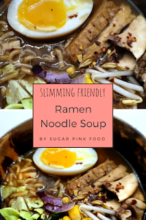 Slow Cooker Ramen Noodle Soup Recipe slimming world friendly low calorie