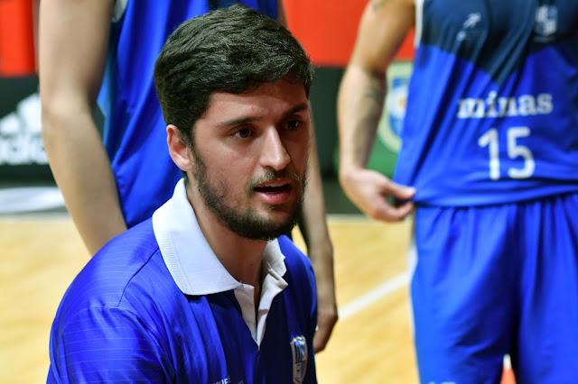 Felipe Freitas foi o treinador minastenista na competição [Divulgação/LNB]