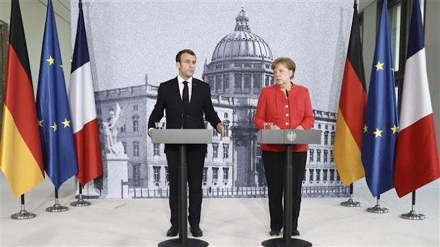 German Chancellor Angela Merkel  calls for 'compromise' on reforming eurozone
