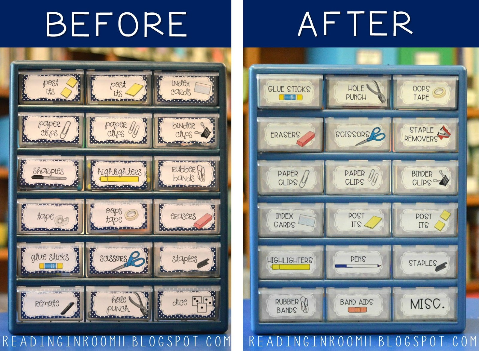 Teacher Toolbox: A Makeover and A Freebie | Reading in Room 11