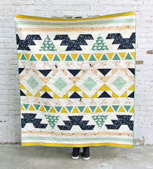 The Warrior Quilt Free Pattern