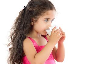 Milk Drinking Baby