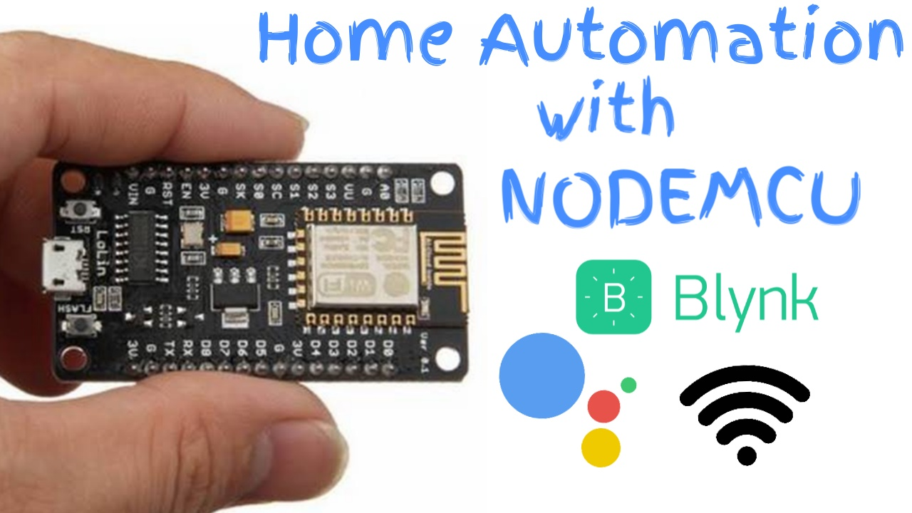 Home Automation using NodeMCU ESP8266
