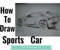 sports cars sketch