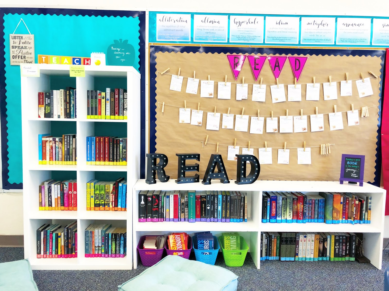 Quick and Easy Middle School Classroom Decor Ideas - EB ...