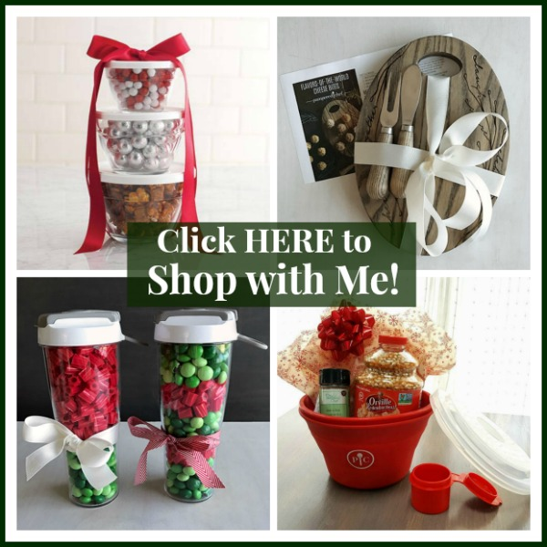 Shop with me for great gift items on Pampered Chef!
