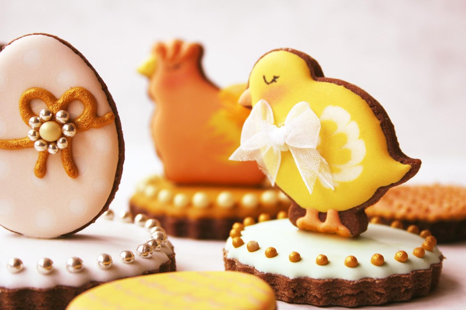 galletas 3D tridimensionales de Pascua