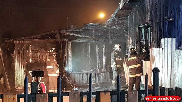 Osorno: Incendio
