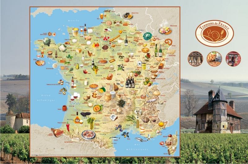 Les spécialités régionales françaises   L'hébergement dans tous ses états
