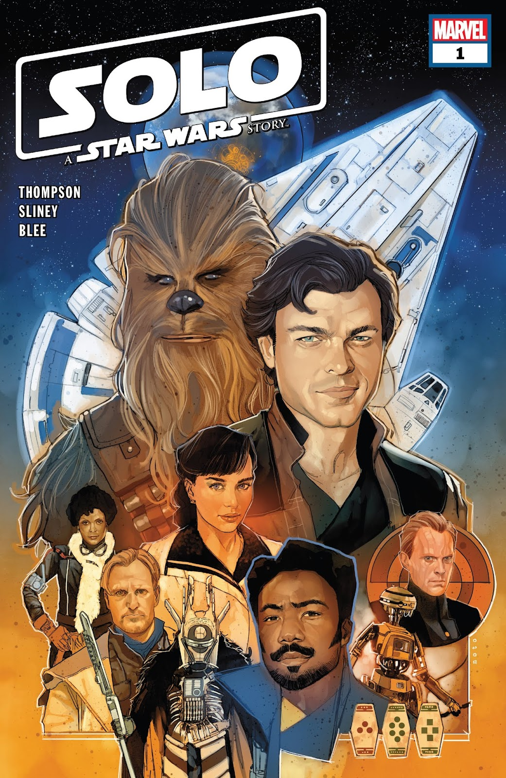 Read online Solo: A Star Wars Story Adaptation comic -  Issue #1 - 1