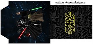 Bolsita de Té para Imprimir Gratis de Star Wars.
