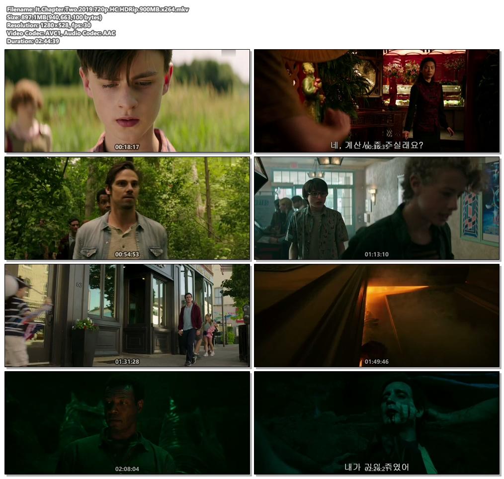 It Chapter Two 2019 720p HC HDRip x264 | 480p 300MB | 100MB HEVC Screenshot