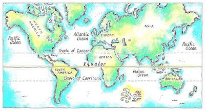 Pengertian Istilah Tropic of Cancer (Garis Balik Utara)