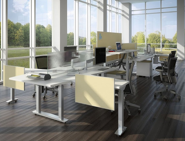 best buy modern used office furniture Yorkshire for sale cheap