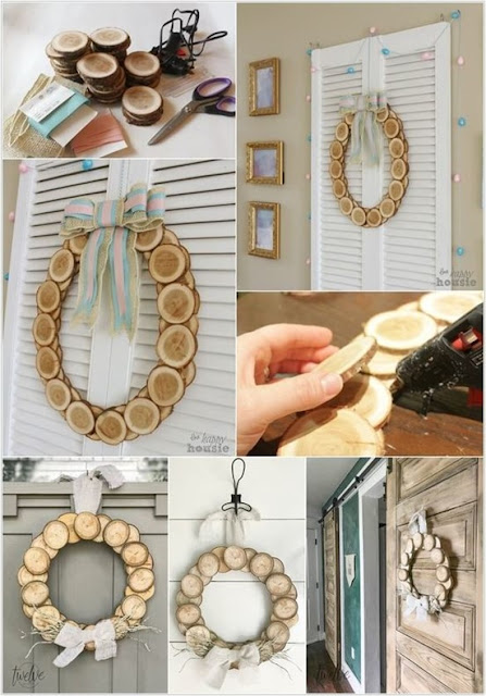 decorating projects for using wood chips