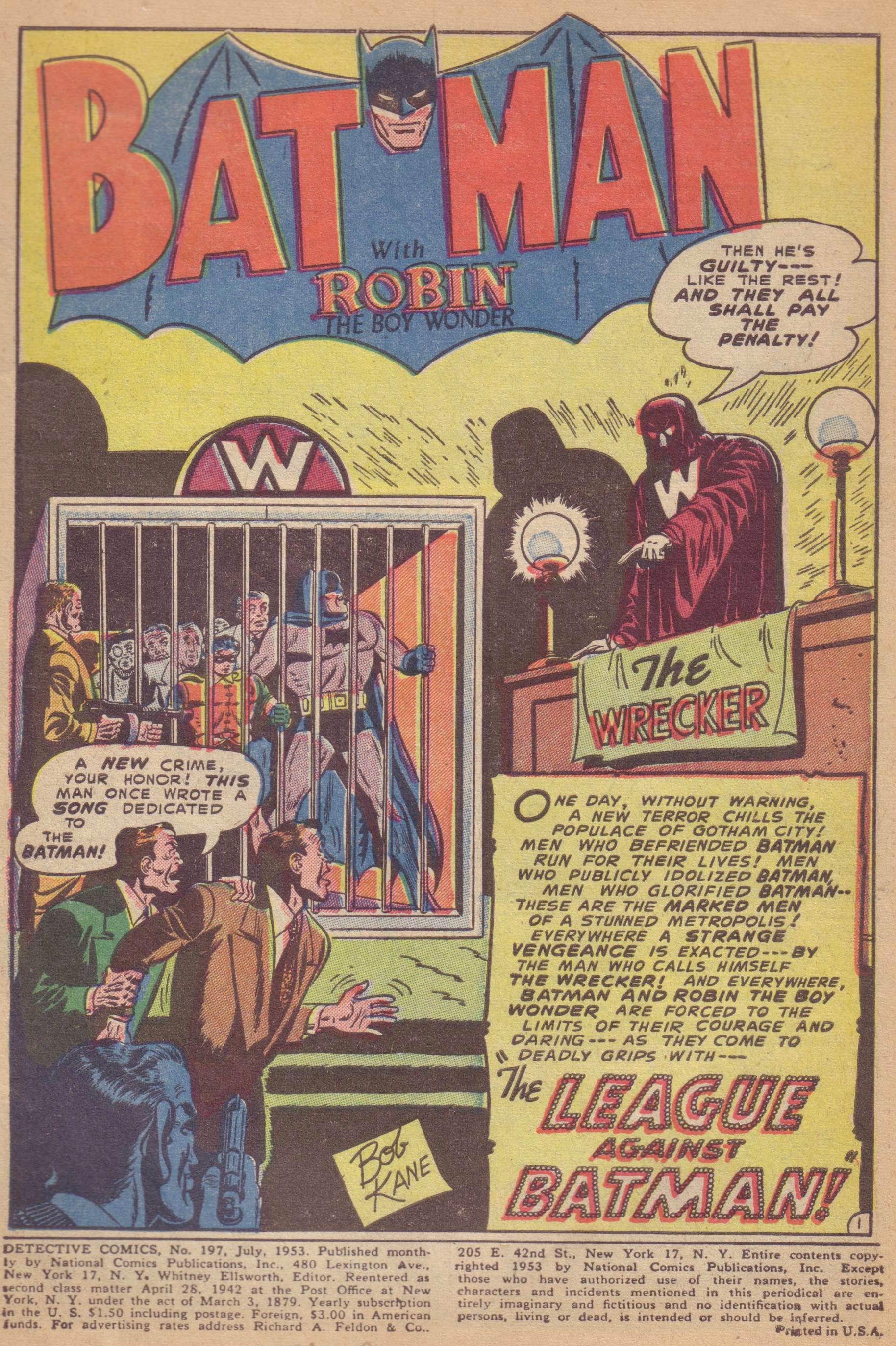 Read online Detective Comics (1937) comic -  Issue #197 - 3