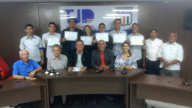 Novos árbitros e assistentes são certificados pela CEAF-MA