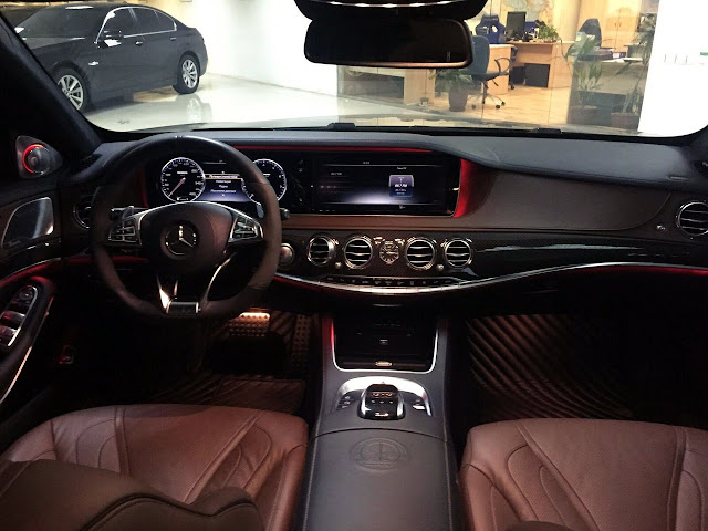 w222 steering wheel