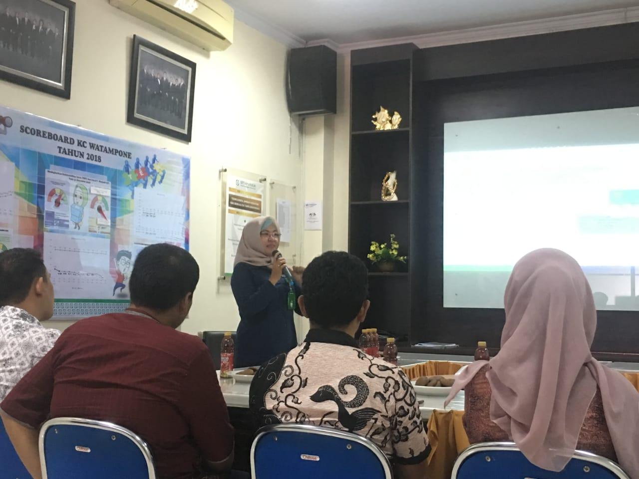 Lewat Sosialisasi, BPJS Kesehatan Cabang Watampone Himbau Kader JKN Tolak Gratifikasi