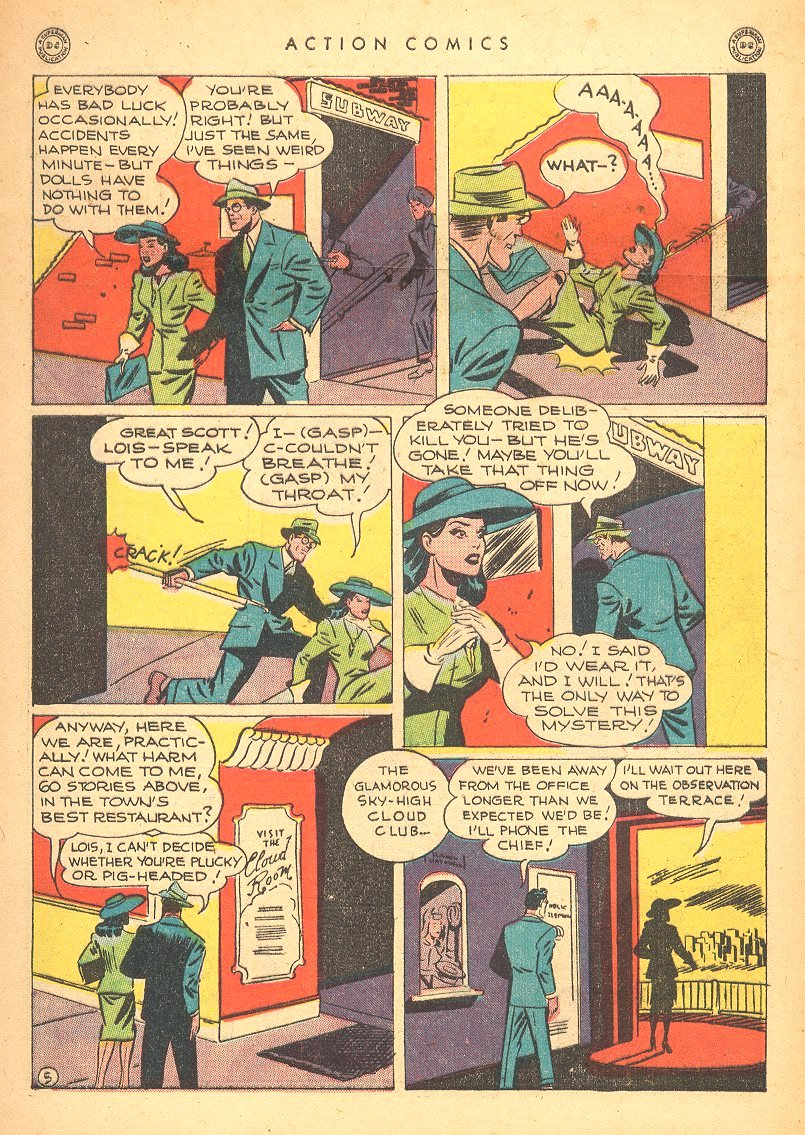 Read online Action Comics (1938) comic -  Issue #99 - 7