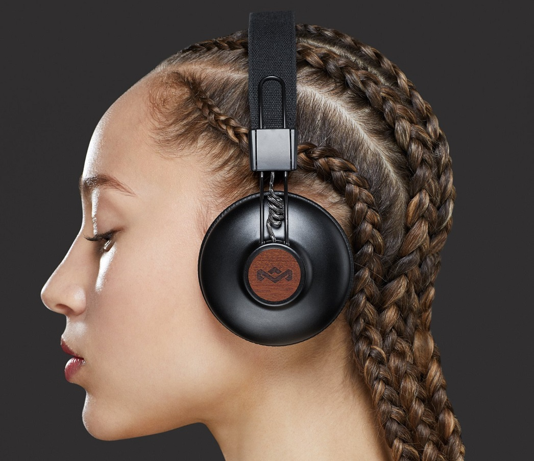 As With The Wired Version House Of Marley Positive Vibration 2 Wireless Headphones Use 50mm Drivers And Aluminium Earcups To Create A Rich True