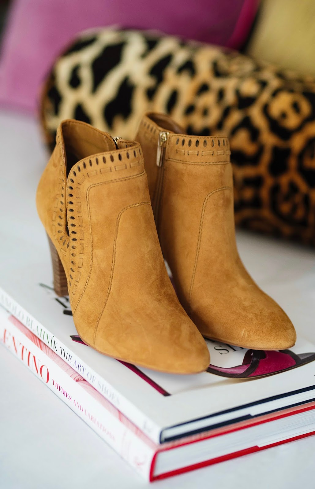 d1d4f879ad6 Nordstrom Anniversary Sale Vince Camuto Reeista Booties - Something  Delightful Blog
