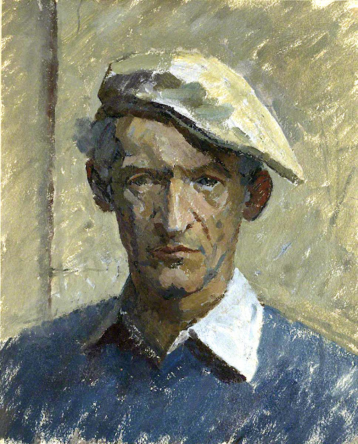Richard Ellis Naish, Self Portrait, Portraits of Painters, Fine arts, Ellis Naish