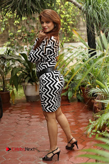 Actress Saloni Latest Pos in Short Dress  0359.JPG