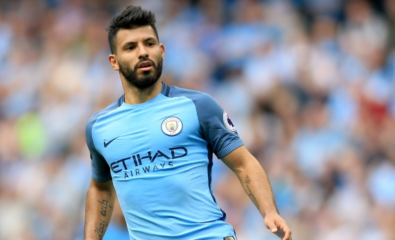 Sergio Aguero will return to the squad after serving his four-match suspension.
