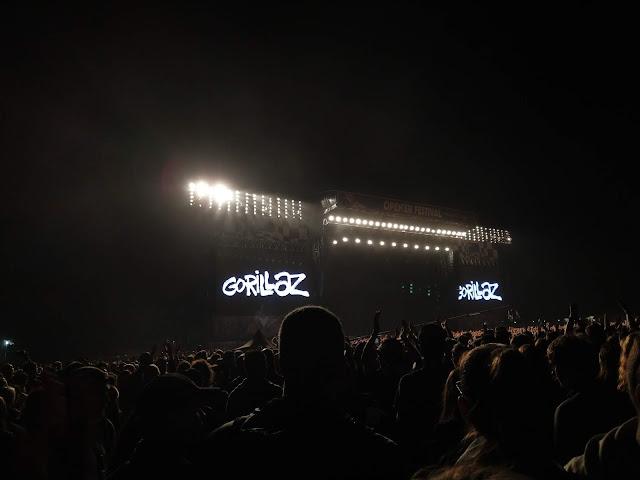 Gorillaz, Open'er Festival 2018
