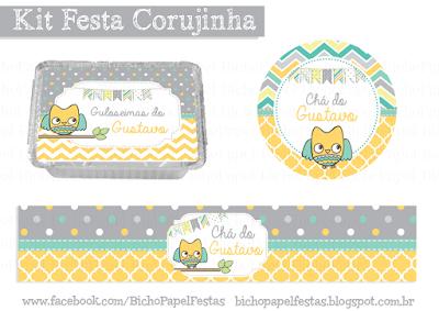 Kit Festa Corujinha