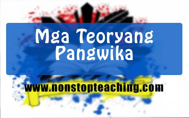 Mga Teoryang Pangwika